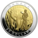 2014 Canada 1 oz Silver $20 The Seven Sacred Teachings Courage