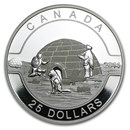 2014 Canada 1 oz Silver $25 The Igloo