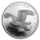 2014 Canada 1 oz Silver Bald Eagle Proof (w/Box & COA)