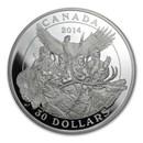 2014 Canada 2 oz Silver National Aboriginal Veterans Monument