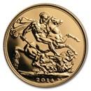 2014 Great Britain Gold Sovereign BU