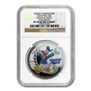 2014 Niue 1 oz Silver $2 Disney Donald Duck PF-70 NGC