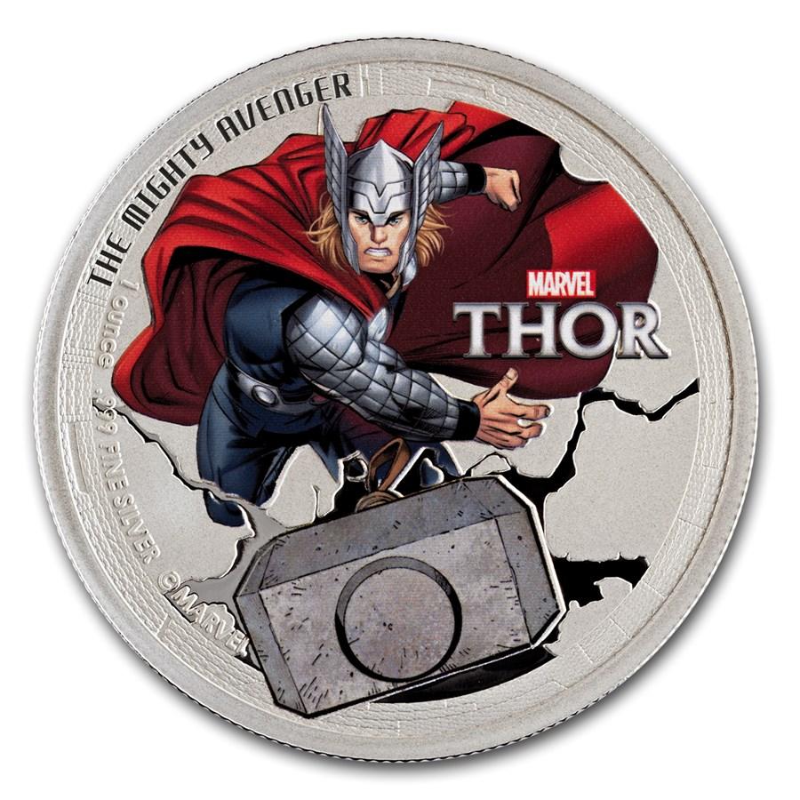 2014 Niue 1 oz Silver Avenger Thor