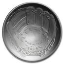 2014-P Baseball HOF $1 Silver Commem BU (w/Box & COA)