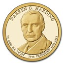 2014-S Warren Harding Presidential Dollar Proof