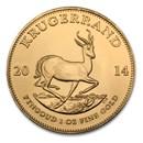 2014 South Africa 1 oz Gold Krugerrand