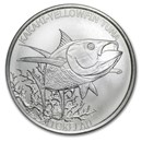 2014 Tokelau 1 oz Silver $5 Yellowfin Tuna