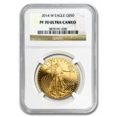 2014-W 1 oz Proof Gold American Eagle PF-70 NGC