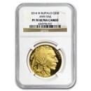 2014-W 1 oz Proof Gold Buffalo PF-70 NGC