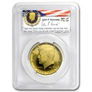 2014-W 3/4 oz Gold Kennedy Half Dollar PR-70 PCGS (FirstStrike®)