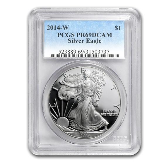 2014-W Proof American Silver Eagle PR-69 PCGS