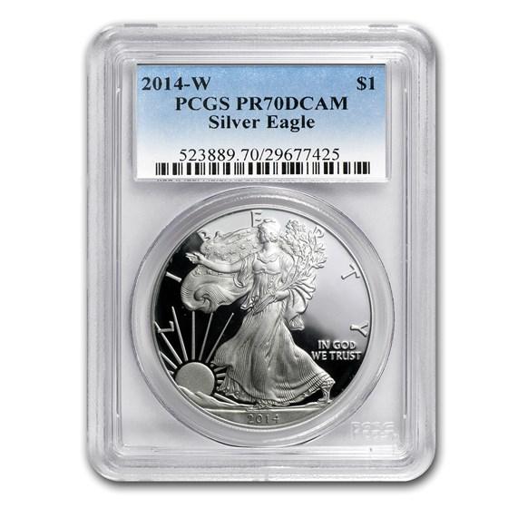 2014-W Proof American Silver Eagle PR-70 PCGS