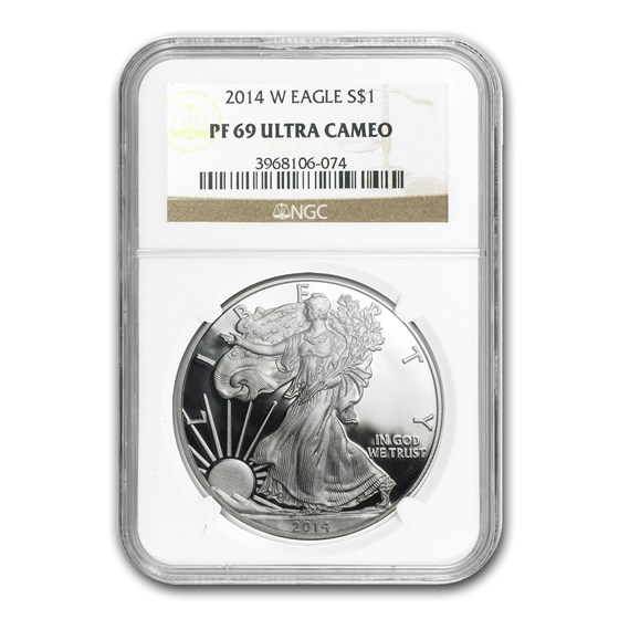 2014-W Proof Silver American Eagle PF-69 NGC