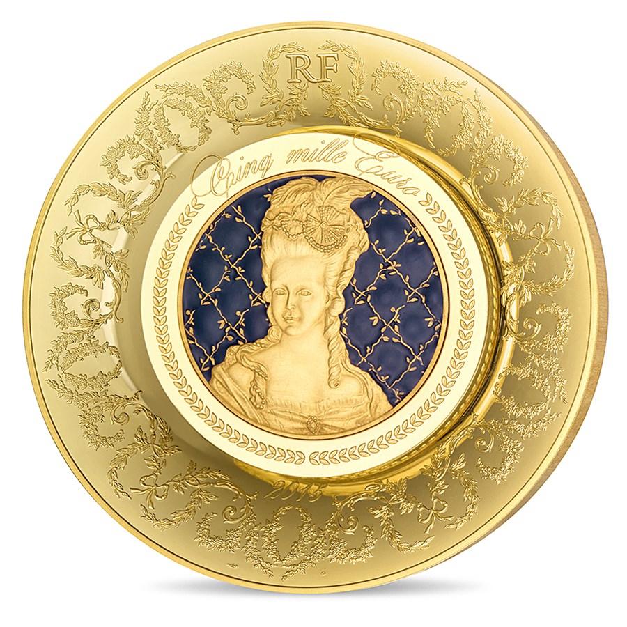 2015 1 kilo Proof Gold €5000 Excellence Series (Sèvres)