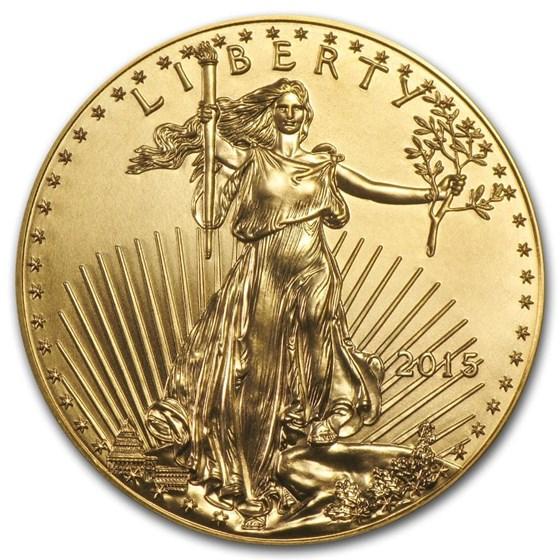 2015 1 oz American Gold Eagle BU