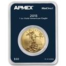 2015 1 oz American Gold Eagle (MintDirect® Single)