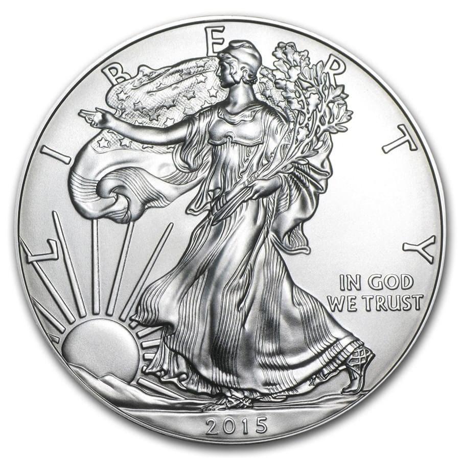 2015 1 oz American Silver Eagle BU