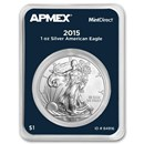 2015 1 oz American Silver Eagle (MintDirect® Single)