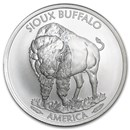 2015 1 oz Silver Native American Mint $1 Sioux Indian BU