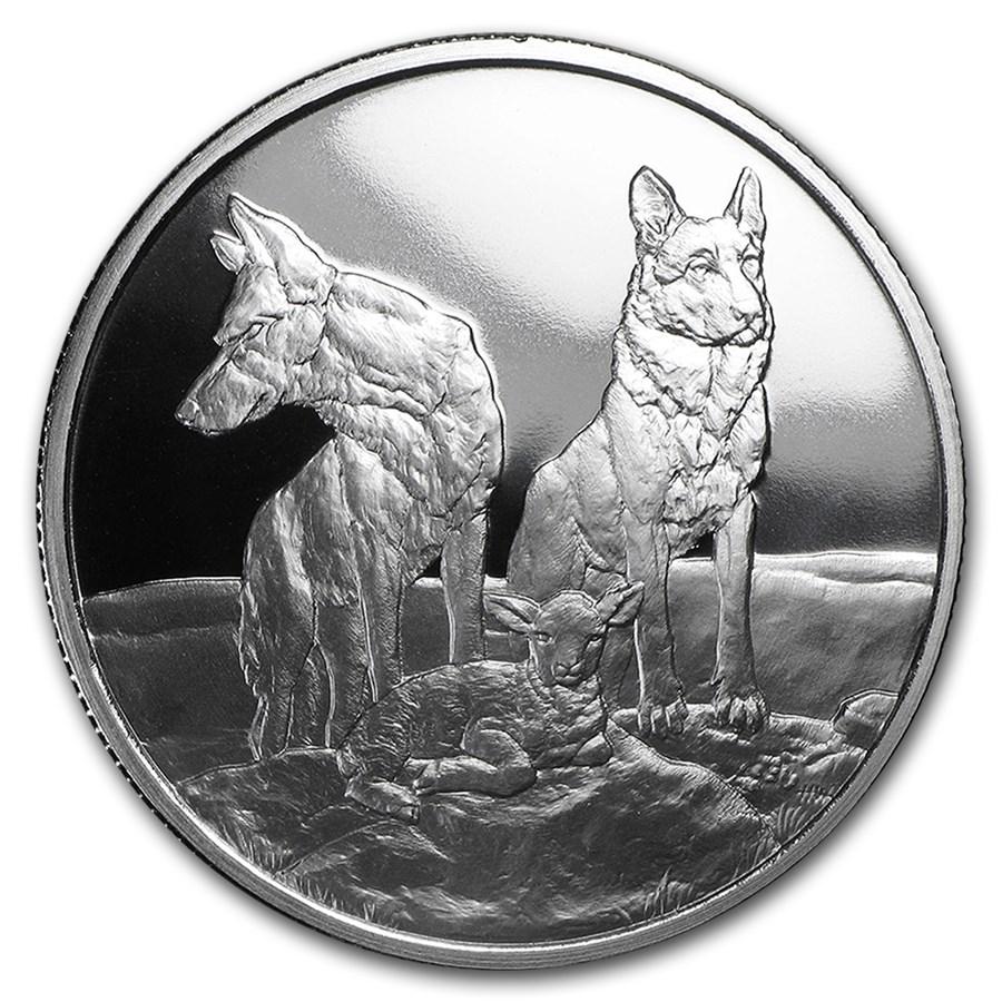 2015 1 oz Silver Proof Round - Aware and Prepared (w/Box & COA)