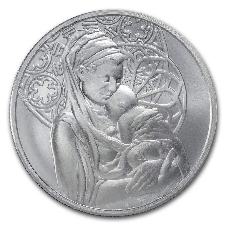 2015 1 oz Silver Round - Peace