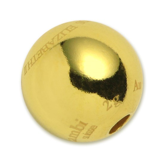 2015 2 gram Cook Islands $10 Gold Sphere Coin Valcambi
