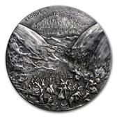 2015 2 oz Silver Coin - Biblical Series (Exodus)