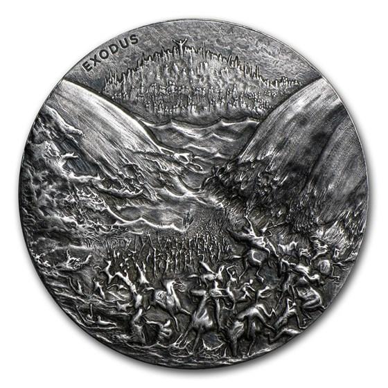 2015 2 oz Silver Coin - Biblical Series (Exodus)