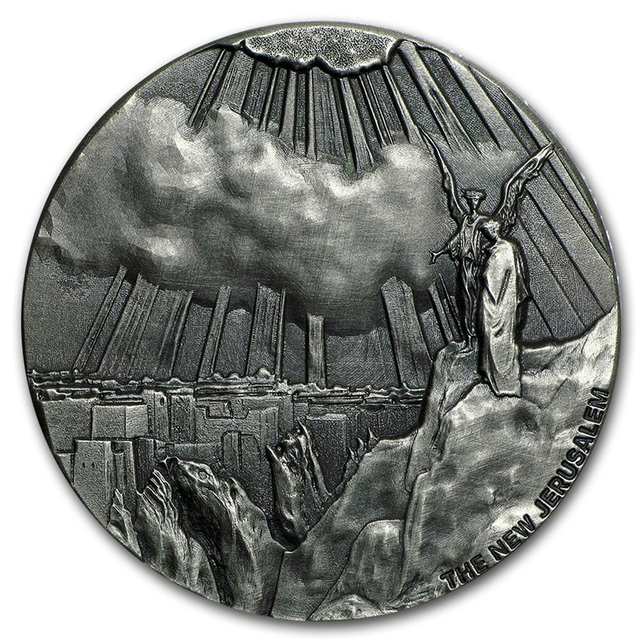 2015 2 oz Silver Coin - Biblical Series (New Jerusalem)