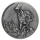 2015 2 oz Silver Coin - Biblical Series (Ten Commandments)