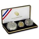 2015 3-Coin U.S. Marshals Commemorative Proof Set (Box & COA)