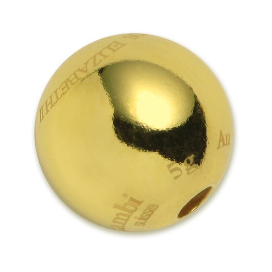 2015 5 gram Cook Islands $20 Gold Sphere Coin Valcambi
