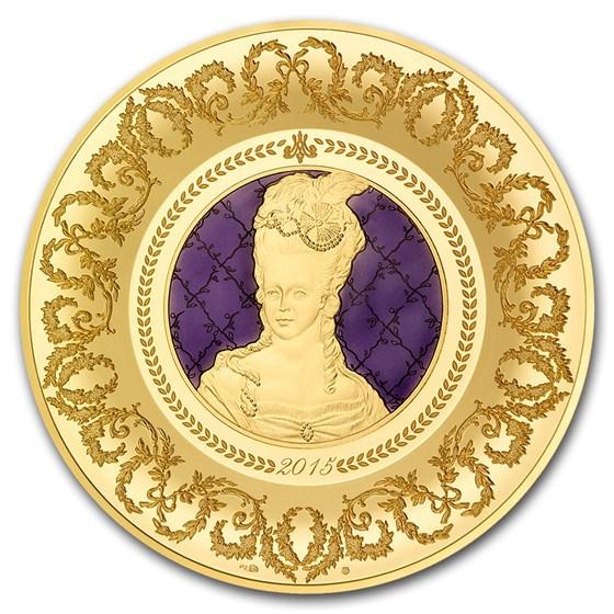 2015 5 oz Proof Gold €500 Excellence Series (Sèvres)