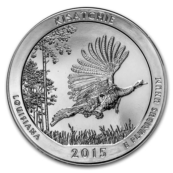 2015 5 oz Silver ATB Kisatchie National Forest, LA