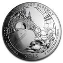 2015 5 oz Silver ATB (Random Park, Scruffy)