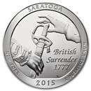 2015 5 oz Silver ATB Saratoga National Park, NY