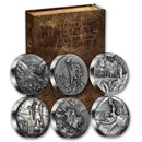 2015 6-Coin Silver Set - Biblical Series (Random Serial #'s)