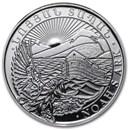 2015 Armenia 1/4 oz Silver 100 Drams Noah's Ark