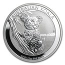 2015 Australia 1/2 oz Silver Koala BU