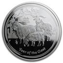 2015 Australia 1/2 oz Silver Lunar Goat Proof