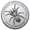 2015 Australia 1 oz Silver Funnel-Web Spider BU