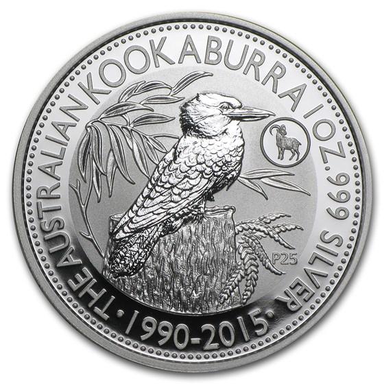 2015 Australia 1 oz Silver Kookaburra BU (Goat Privy)