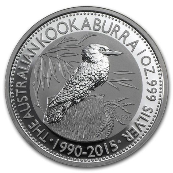 2015 Australia 1 oz Silver Kookaburra BU