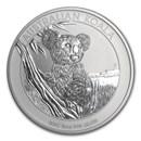 2015 Australia 10 oz Silver Koala BU