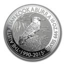 2015 Australia 10 oz Silver Kookaburra BU