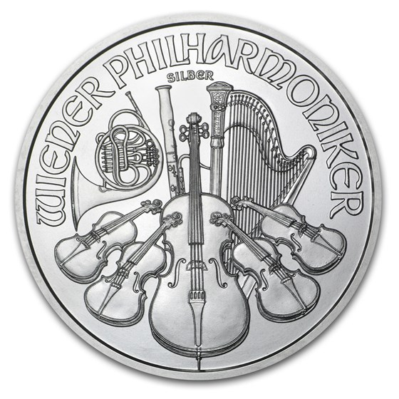2015 Austria 1 oz Silver Philharmonic BU