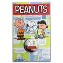 2015 British Virgin Islands Cupro-Nickel $1 65th Anniv of Peanuts