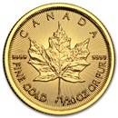 2015 Canada 1/20 oz Gold Maple Leaf BU