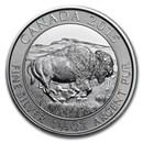 2015 Canada 1.25 oz Silver $8 Bison BU
