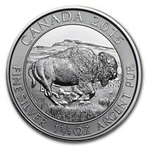 2015 Canada 1 25 Oz Silver 8 Bison Bu Silver Coin Apmex